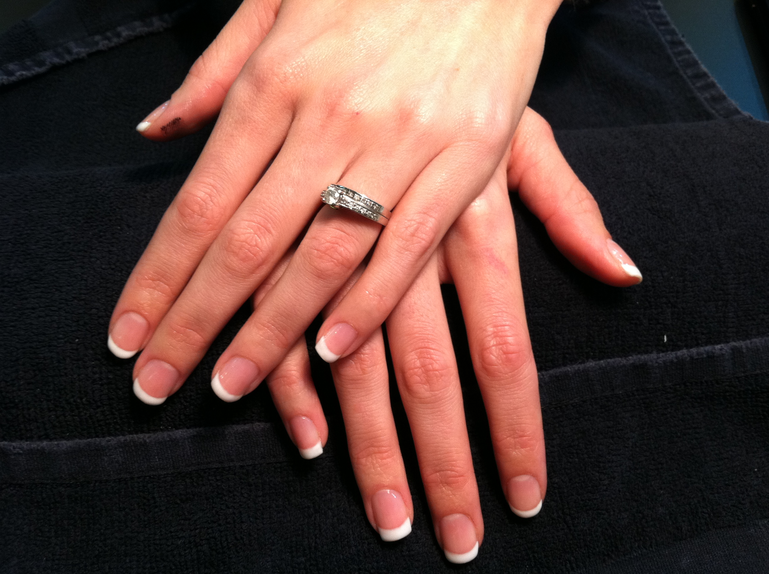 Gelish French Gel Polish Mani