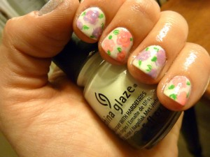 China Glaze Dandy Lyin Around is the perfect white polish for Spring nails!