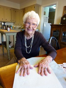 Vintage Grandma gets vintage spring nails
