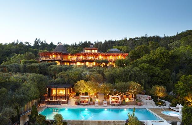 Napa Valley Luxury Spa-Auberge Du Soleil