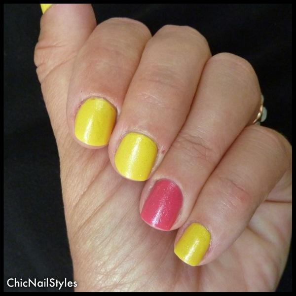 Bicycle Yellow Nail Polish