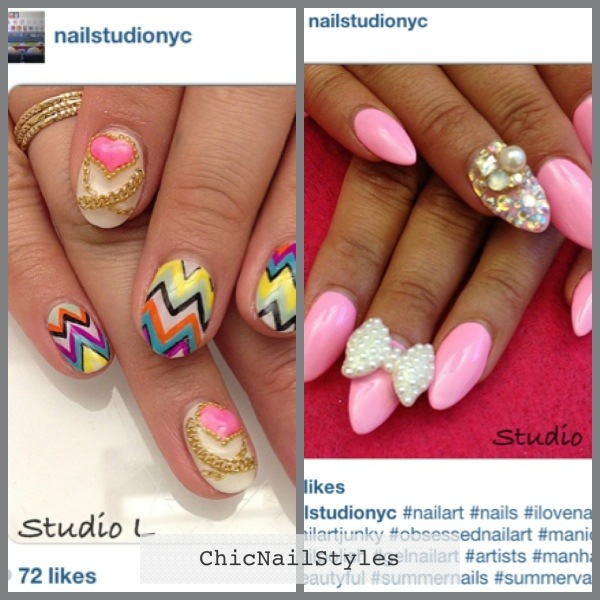 Vacation nails for me and #vacationnails from Instagram