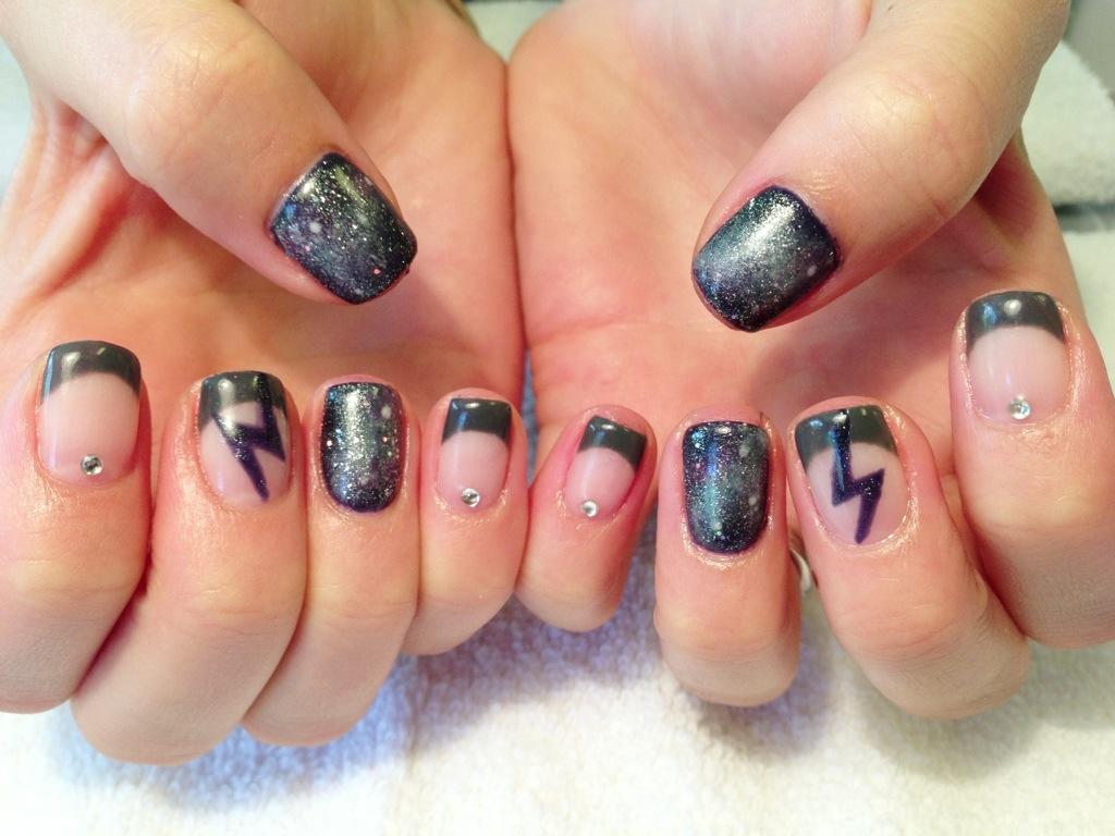 galaxy nails Archives - Chic Nail Styles