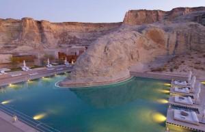 amangiri pool area