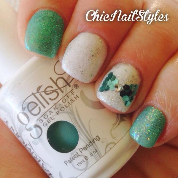 Tiffany Blue Nails Gel Polish