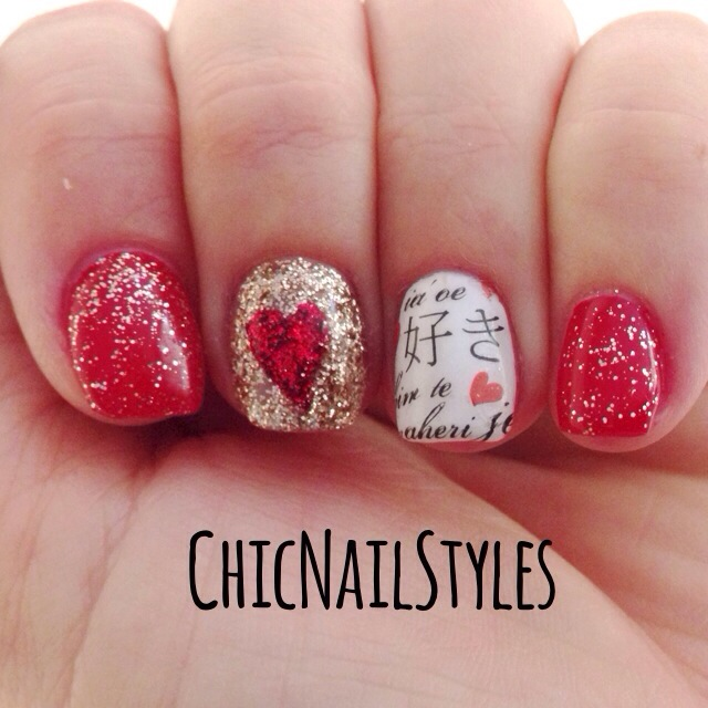 Red Hot Sultry Nails! - Chic Nail Styles
