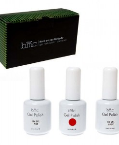 BMC-UV-LED-Gel-Nail-Art-Polish-3pc-Kit-One-Color-Red-Top-Base-Coat-Manicure-Set-0