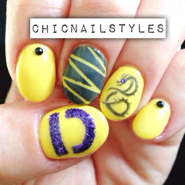 Imagine Dragons Nails - Imagine Dragons Nails - Chic Nail Styles