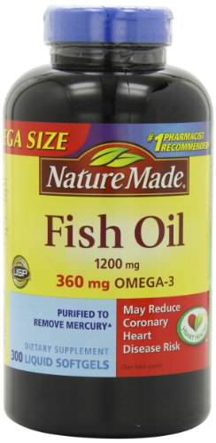 Nature made 1200mg of fish oil 2400 per serving 360mg of for Nature made fish oil 1200 mg 360 mg omega 3