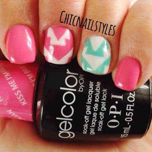 Gelcolor Archives Chic Nail Styles