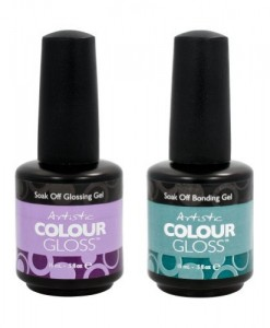 Artistic-Nail-Design-2-Piece-Salon-Manicure-Bundle-Bonding-Gel-Gloss-Coat-.5oz-0