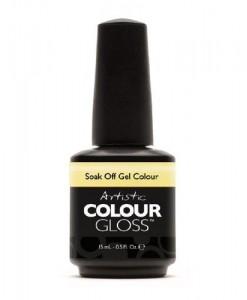 Artistic-Nail-Design-Soak-Colour-Gloss-Gel-Pastel-Yellow-Polish-03109-FLAWLESS-0