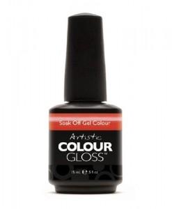 Artistic-Nail-Design-Soak-Off-Colour-Gloss-Coral-Shimmer-Polish-3079-SNAPDRAGON-0