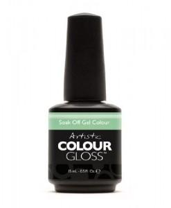 Artistic-Nail-Design-Soak-Off-Colour-Gloss-Creme-Green-Gel-Polish-3111-CHARMING-0