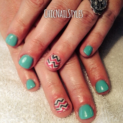 Even Nail Biters Can Have Pretty Nails Chic Nail Styles