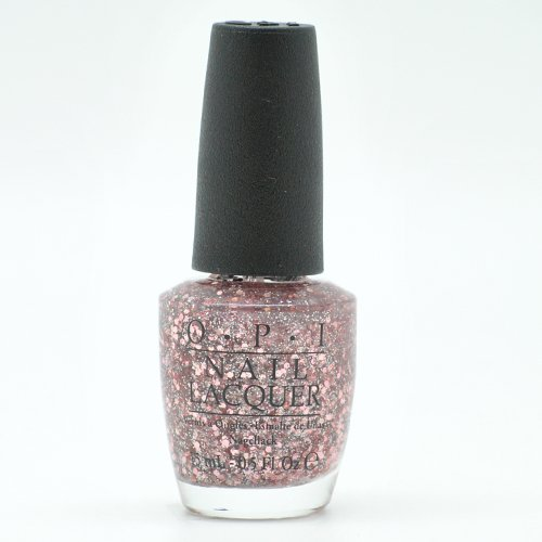 Opi Pink Shimmer Nail Polish: OPI Nail Lacquer, Spotlight On Glitter You Pink Too Much