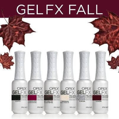 Orly Gel Fx 6 Pix Nail Polish Set Jewel Tone Fall Chic Nail Styles