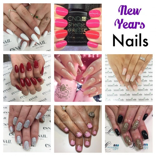 New Year\u0027s Eve Nails , Chic Nail Styles