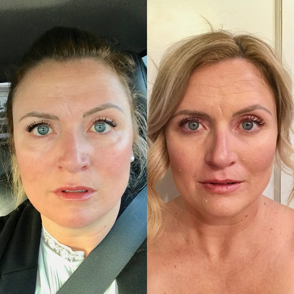 maskcara makeup before and after