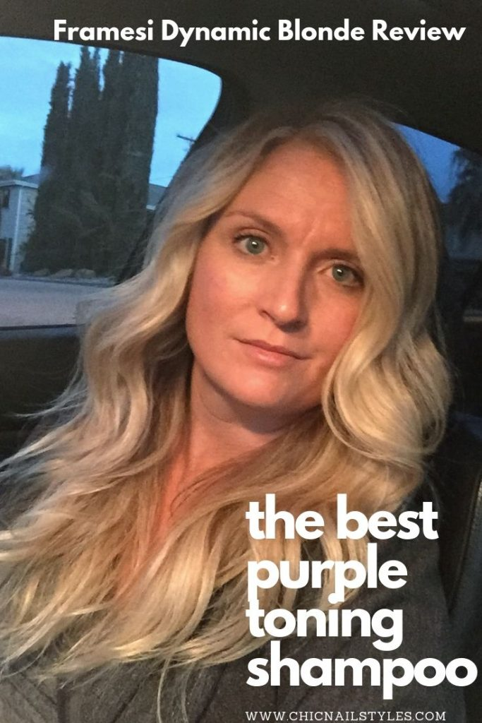 the best purple toning shampoo for blonde hair