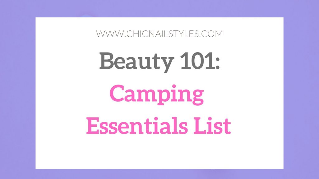 Camping Essentials List