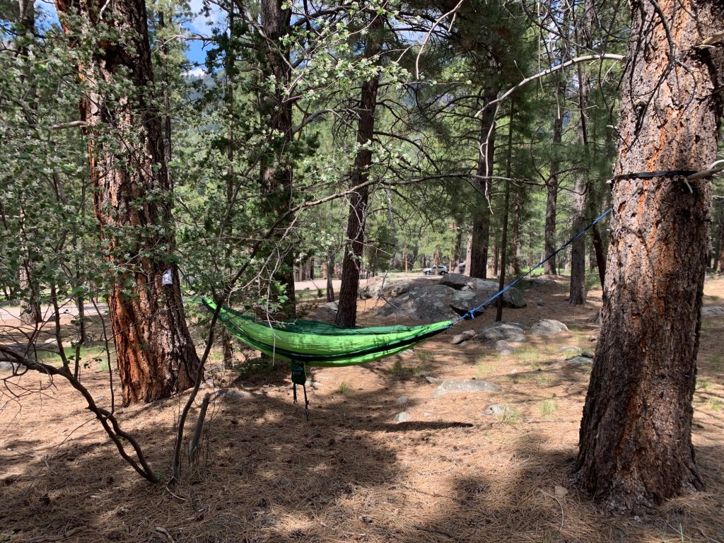 double tree hammock for camping