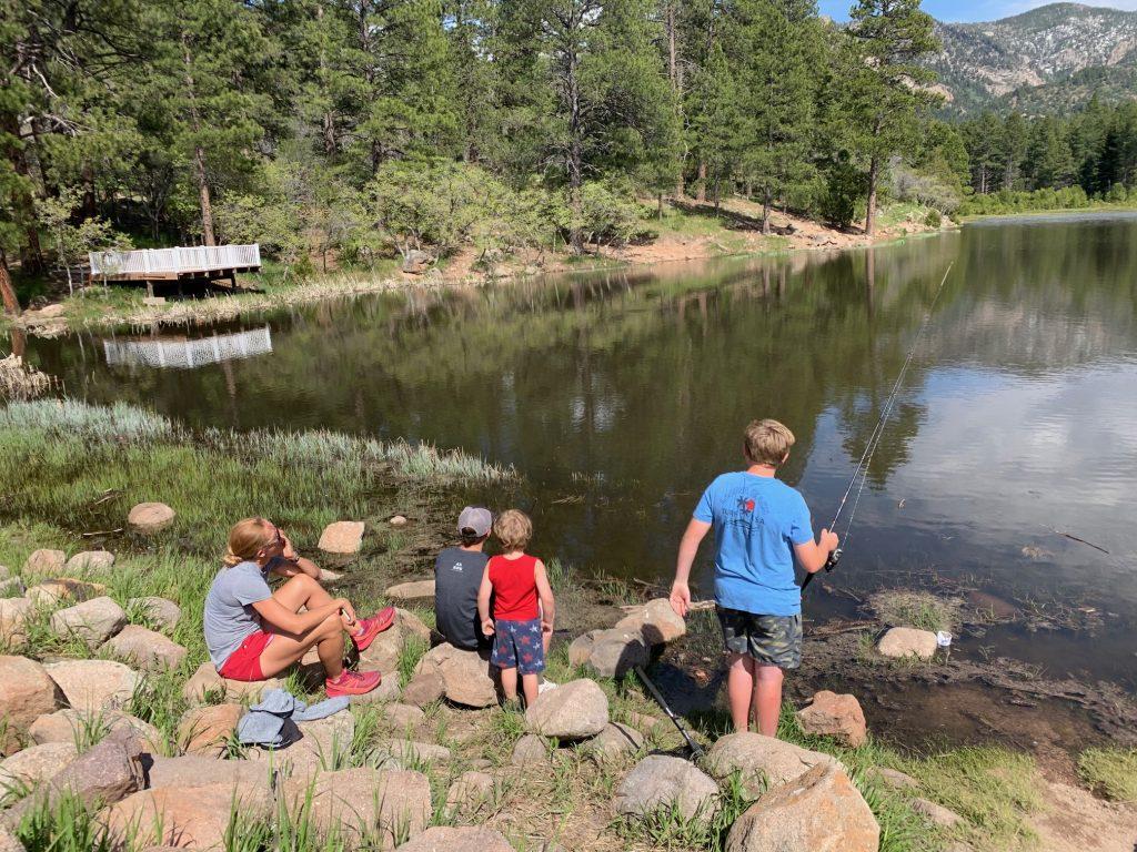 pine valley utah lake