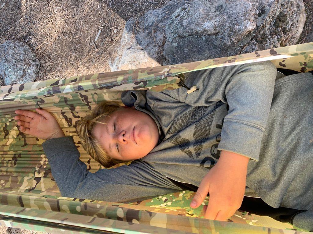 camo camping hammock