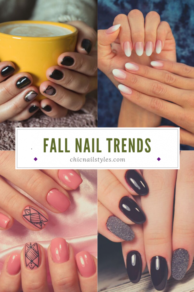 The Best Fall Nail Art Of  Chic Nail Styles