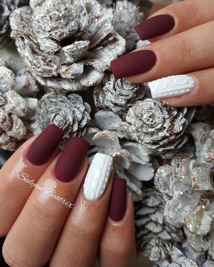 sweater nail for fall
